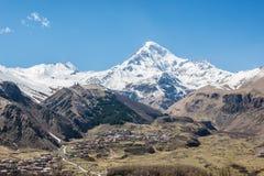 Mount Kazbek Royalty Free Stock Image