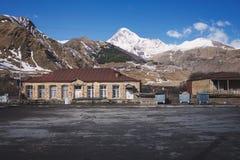 The Mount Kazbek Royalty Free Stock Image