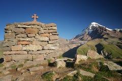Mount Kazbek Stock Photo