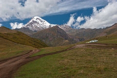 Mount Kazbek Royalty Free Stock Photo