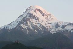 Mount Kazbek, Georgia, Europe Royalty Free Stock Images