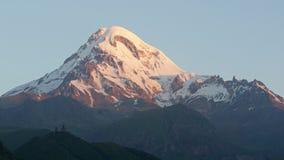 Mount Kazbek, Georgia, Europe Royalty Free Stock Photography