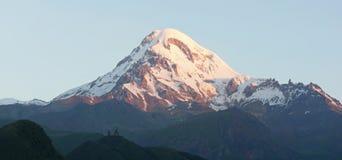 Mount Kazbek, Georgia, Europe Stock Image