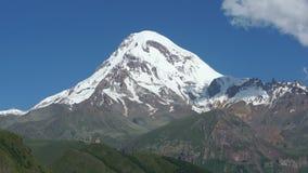 Mount Kazbek, Georgia, Europe Royalty Free Stock Photos