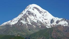 Mount Kazbek, Georgia, Europe Stock Photography