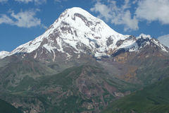Mount Kazbek, Georgia, Europe Stock Photo