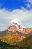Mount Kazbek. Georgia Royalty Free Stock Photography