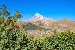 Mount Kazbek, Georgia Stock Photography