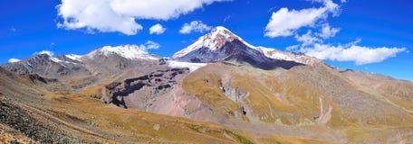 Mount Kazbek, Kazbegi, Georgia Stock Image