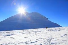 Mount Kazbek Royalty Free Stock Photos