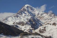 Mount Kazbek Royalty Free Stock Images