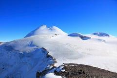 Mount Kazbek Stock Photography