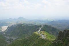 Mount Kelud. Hills view of mount Kelud, Kediri, East Java royalty free stock photo