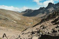 Mount Kenya Kenya Royaltyfria Bilder
