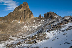Mount Kenya Royalty Free Stock Images