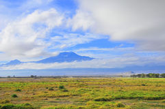 Mount Kilimanjaro Royalty Free Stock Photo