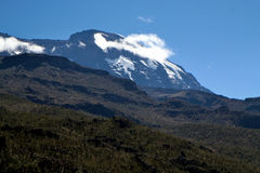 Mount kilimanjaro Royalty Free Stock Image