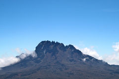 Mount kilimanjaro Royalty Free Stock Photos