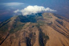 Mount kilimanjaro Royalty Free Stock Image