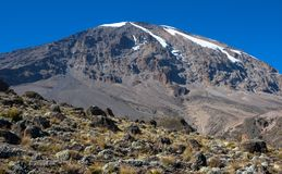 Mount Kilimanjaro - the highest mountain in Tanzania and Africa. Mount Kilimanjaro - the highest mountain in Tanzania, Africa stock photos