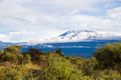 Mount Kilimanjaro Stock Photo