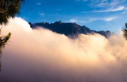 Mount Kinabalau view from below Stock Photo