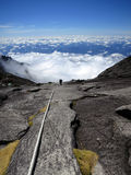 Mount Kinabalu, Борнео, Малайзия стоковые изображения rf