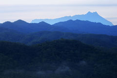 Mount Kinabalu Royalty Free Stock Photo