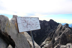 Mount Kinabalu Стоковая Фотография RF