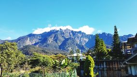 Mount Kinabalu Royalty Free Stock Photography