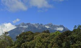 Mount Kinabalu at Borneo, Sabah, Malaysia Stock Images