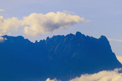 Mount Kinabalu the highest mountain in Southeast Asia Stock Photos