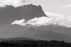 Mount Kinabalu located in Sabah, Borneo Royalty Free Stock Image