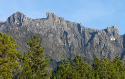 Mount Kinabalu located at Sabah, Borneo Stock Image