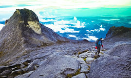 Mount Kinabalu. Malay: Gunung Kinabalu is a mountain in Sabah, Malaysia. It is protected as Kinabalu Park, a World Heritage Site Royalty Free Stock Photography