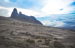 Mount Kinabalu. Malay: Gunung Kinabalu is a mountain in Sabah, Malaysia. It is protected as Kinabalu Park, a World Heritage Site. Kinabalu is the highest peak Royalty Free Stock Images