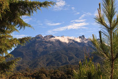 Mount Kinabalu Peaks Royalty Free Stock Photos