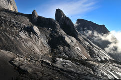Mount Kinabalu. Rocky landscapes at Mount Kinabalu Royalty Free Stock Photo
