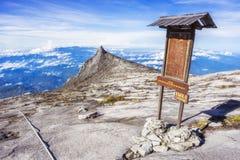 Mount Kinabalu in Sabah, Borneo, Malaysia Stock Photos