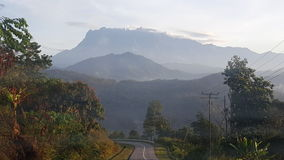 Mount Kinabalu Stock Photo