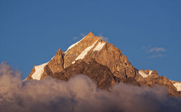 Mount Kinnaur kailash Stock Photos