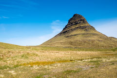 Mount Kirkjufell in Iceland Royalty Free Stock Photography