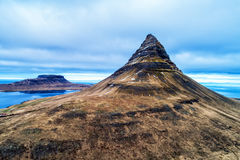 Mount Kirkjufell in the Snaefellsnes peninsula, near Grundarfjordur, Iceland royalty free stock image