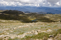 Mount Kosciuszko. Australia. View from the top of Mount Kosciuszko. Australia Stock Images