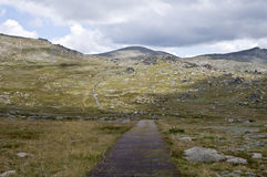 Mount Kosciuszko, Australia. Royalty Free Stock Photo