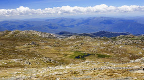 Mount Kosciuszko National Park in Australia. Mount Kosciuszko National Park in Australia (near Thredbo village Stock Photos