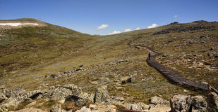 Mount Kosciuszko National Park in Australia. Royalty Free Stock Photos