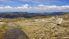 Mount Kosciuszko National Park in Australia. Mount Kosciuszko National Park in Australia (near Thredbo village Stock Photo