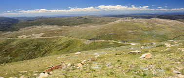 Mount Kosciuszko National Park in Australia. Mount Kosciuszko National Park in Australia (near Thredbo village Royalty Free Stock Images