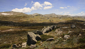 Mount Kosciuszko National Park in Australia. Mount Kosciuszko National Park in Australia (near Thredbo village Royalty Free Stock Photography